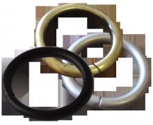 Кольца круглые